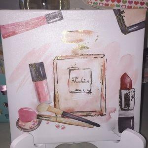 Other - Glamorous canvas wall art set 👄 makeup 💄